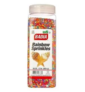 BADIA #00293 RAINBOW SPRINKLES