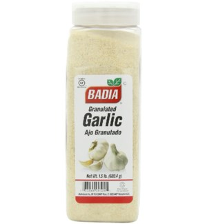 BADIA #00524 GRANULATED GARLIC
