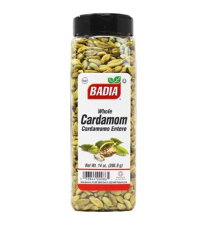 BADIA #00986 CARDAMOM GREEN WHOLE