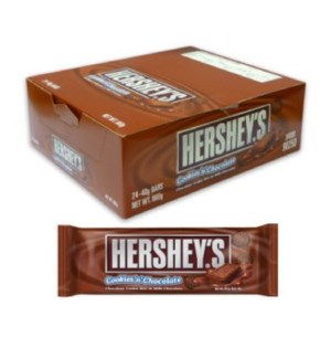 KING SIZE HERSHEY'S #22060 COOKIES 'N' CHOCOLATE