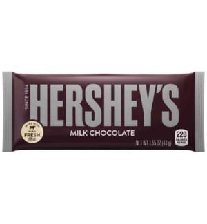 HERSHEY CHOCOLATE BARS PLAIN
