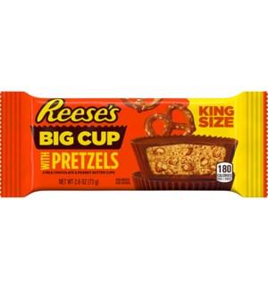 KING SIZE REESES #24989 BIG CUP W/PRETZELS