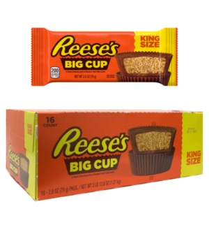 KING SIZE #43096 BIG CUP REESES