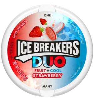 ICE BREAKERS #72335 STRAWBERRY