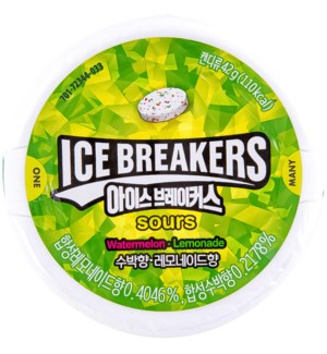 ICE BREAKERS #72344 SOUR WATERMELON LEMONADE