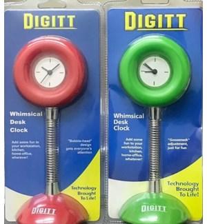 DIGITT #3034 WHIMSICAL DESK CLOCK