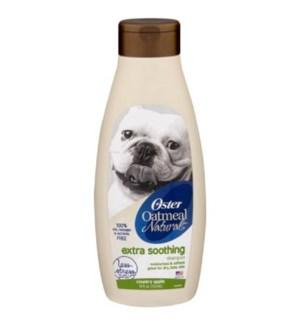 OSTER #3424 DOG SHAMPOO W/OATMEAL COUNTRY APPLE