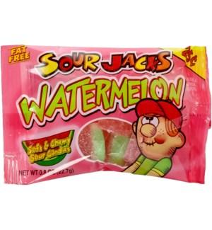 SOURJACKS #02244 WATERMELON, SOFT & CHEWY