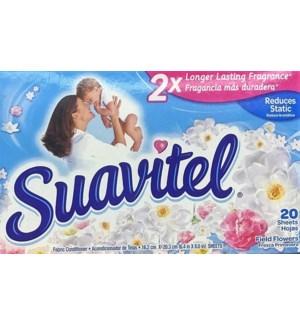 SUAVITEL DRYER SHEETS #9197 BLUE