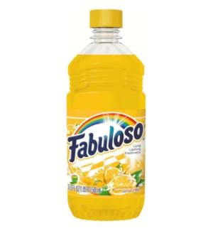 FABULOSO #72189 REFRESHING LEMON CLEANER