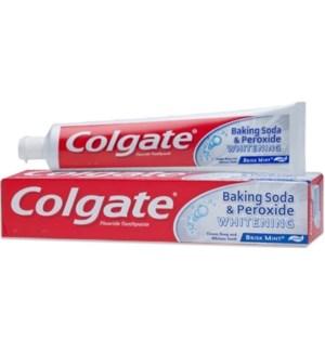COLGATE #51092 BAKING SODA&PEROXIDE WHT TOOTHPASTE