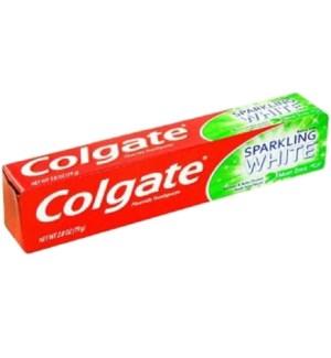 COLGATE T'PASTE #51107 SPARKLING