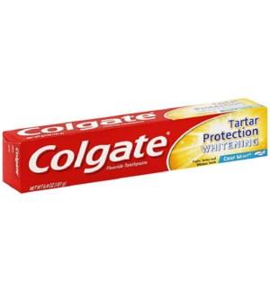 COLGATE T'PASTE #51109 TARTER PROTC. WHI