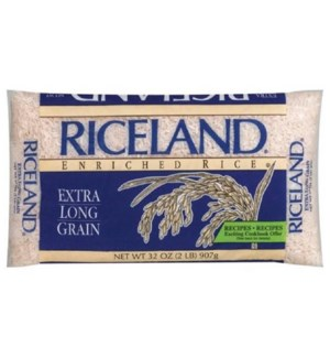 RICELAND #5512 WHITE LONG GRANIN