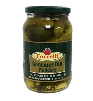 FORRELLI #87210 COURMET DILL PICKLES