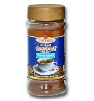 INSTANT COFFEE #87843 FRENCH VANILLA, FORELLI