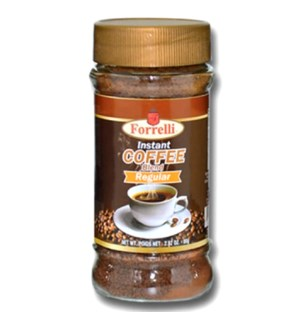 INSTANT COFFEE BLEND #87852 REGULAR, FORRELLI