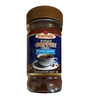 INSTANT COFFEE #87854 FRENCH VANILLA, FORELLI