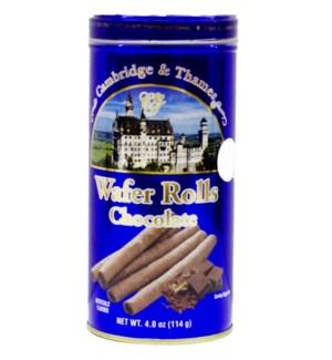 C&T #94352 CHOCOLATE WAFER ROLLS