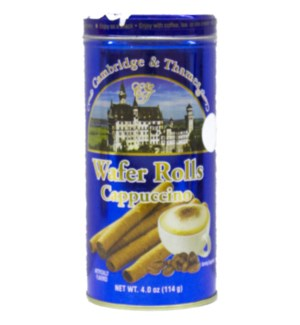 C&T #94354 CAPPUCCINO WAFER ROLLS