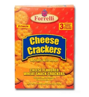 FORRELLI #94395 CHEESE CRACKERS