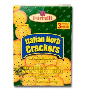 FORRELLI #94396 ITALIAN HERB CRACKERS