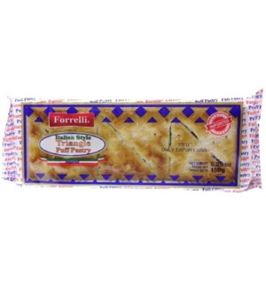 FORRELLI #94451 TRIANGLE PUFF PASTRY