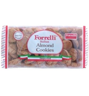 FORRELLI COOKIES/ALMOND FLAVORED