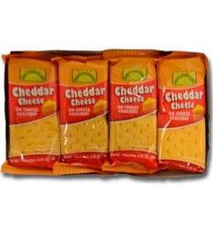 FORRELLI #98365 CRACKERS CHEDDAR CHEESE