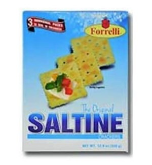FORRELLI CRACKERS #98525 SALTINE ORIGINAL