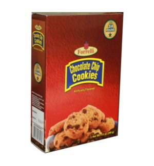 FORRELLI COOKIES #98528 CHOCOLATE CHIP