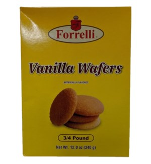 FORRELLI #98539 VANILLA WAFERS
