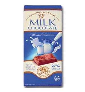 CAMBRIDGE & THAMES MILK CHOCOLATE