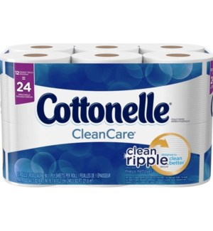 COTTONELLE #47622 CLEAN CARE BATH TISSUE