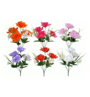 FLOWERS #15126 ROSE MIXED BUSH