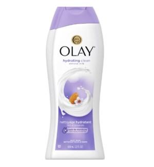 OLAY BODY WASH #97478 ALMOND MILK HYDRATING CLEAN