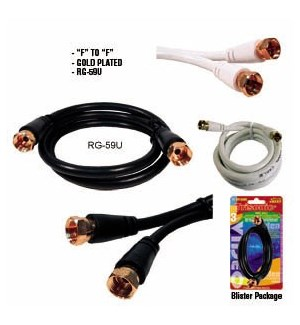 TS-FF-12WH 12FT VIDEO CABLE