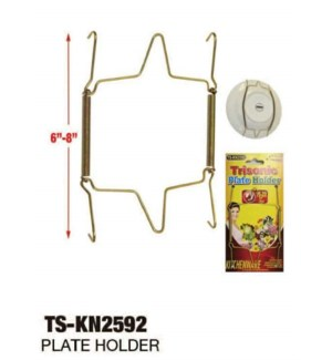TS*-KN2592 PLATE HOLDER