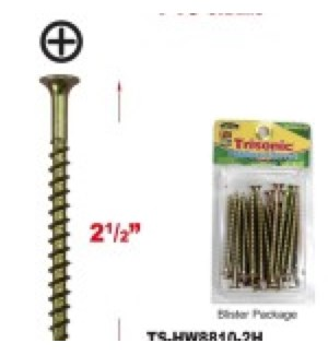 TS-HW8810-2H CHIPBOARD SCREWS