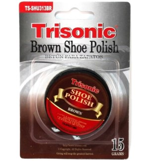 TS-SHU313BR BROWN SHOE POLISH