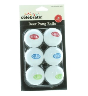 PING PONG BALLS #300 WAY TO CELEBRATE BEER