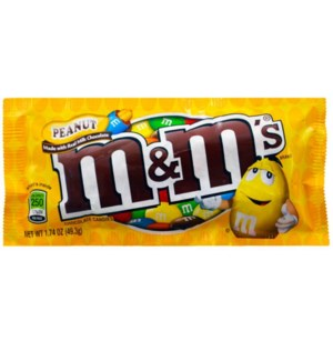 M&M PEANUT #01232 (YELLOW)