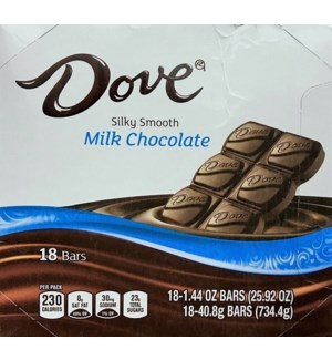 DOVE MILK CHOCOLATE CANDY BAR