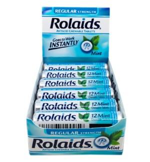 ROLAIDS #10006 MINT REG. ANTACID TABLETS