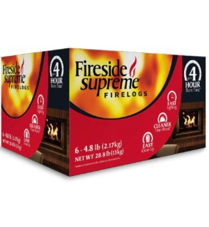 FIRELOGS #863 FIRESIDE SUPREME