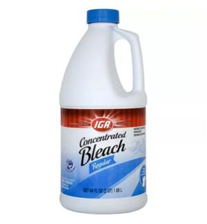 IGA BLEACH #78561 REGULAR CONCENTRATED