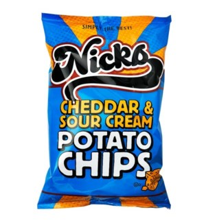 NICKS #1515 CHEDDAR SOUR CREAM POTATO CHIPS
