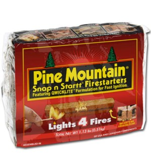 PINE MOUNTAIN #10044 FIRE STARTER LOGS