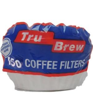 COFFEE FILTER #15051(TRU BREW)