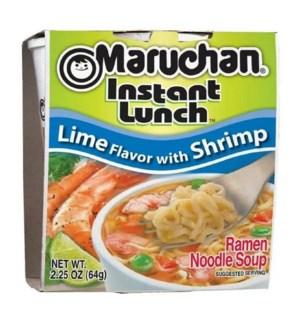 MARUCHAN #00105 LIME W/SHRIMP NOODLE SOUP